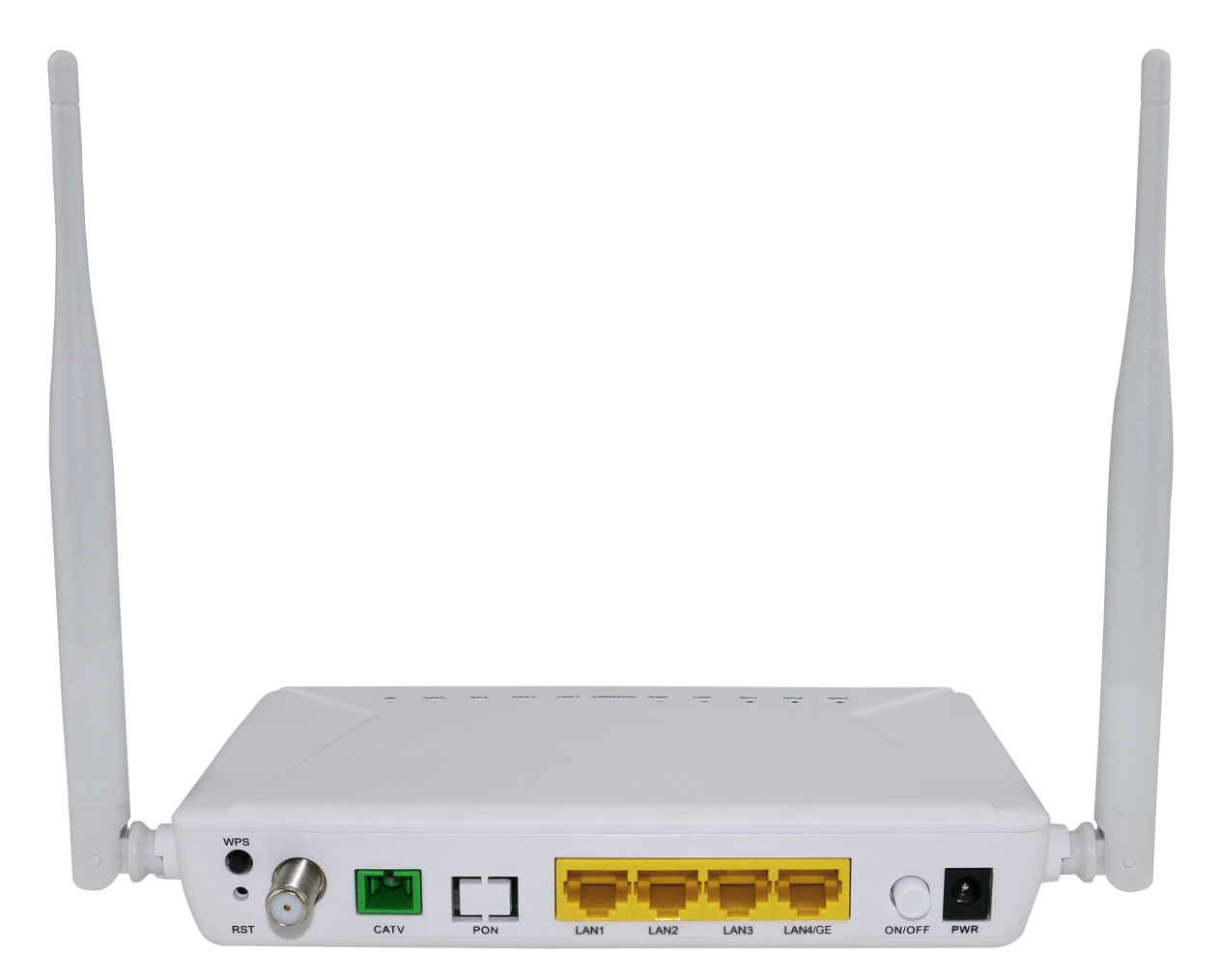EPON ONU  1GE+3FE+WiFi+CATV(single fiber)
