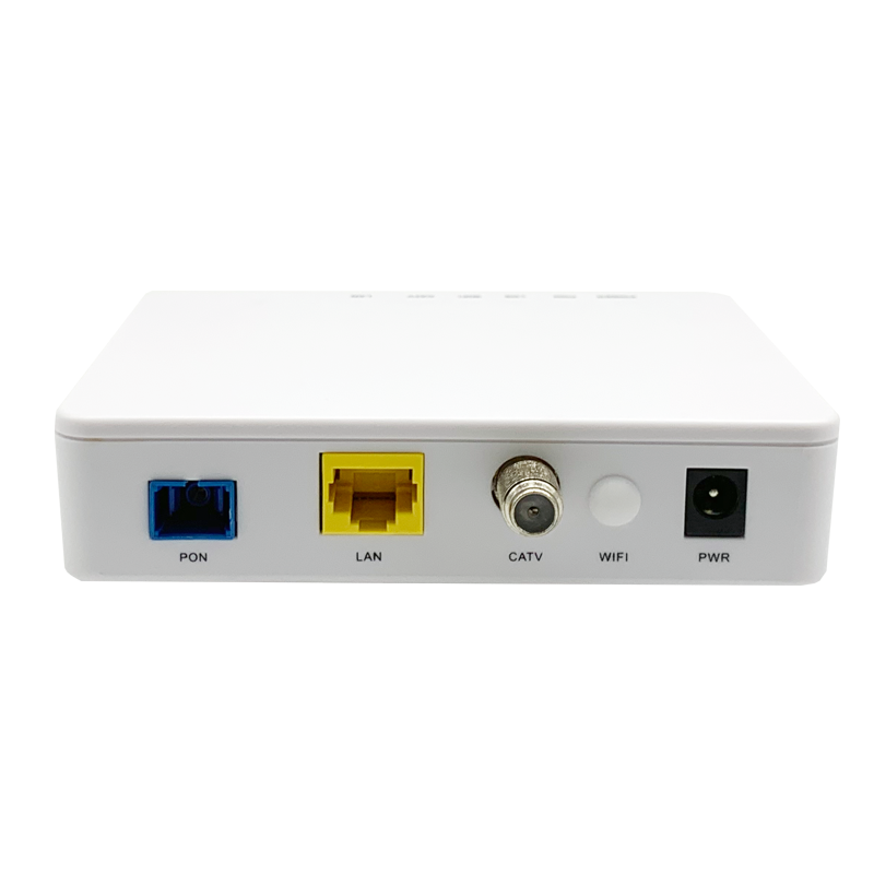 GPON ONT 1GE+WiFi +CATV (single fiber)
